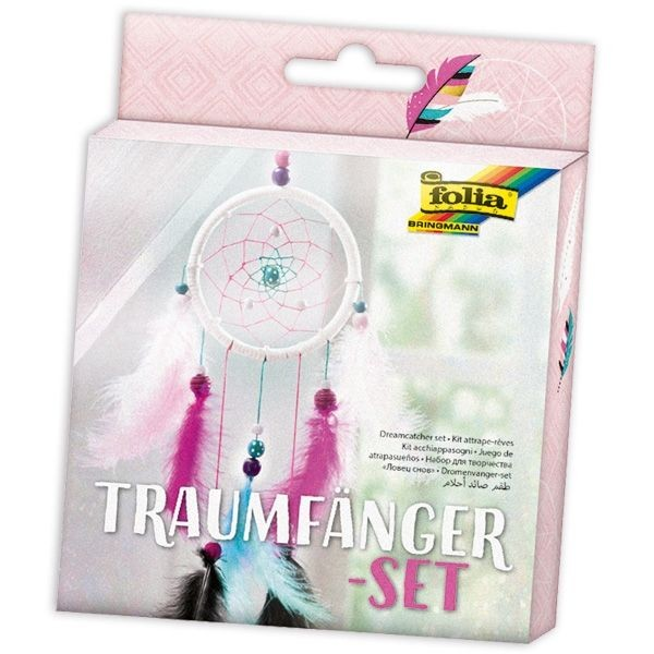 Traumfänger-Set Girly, 35 Teile