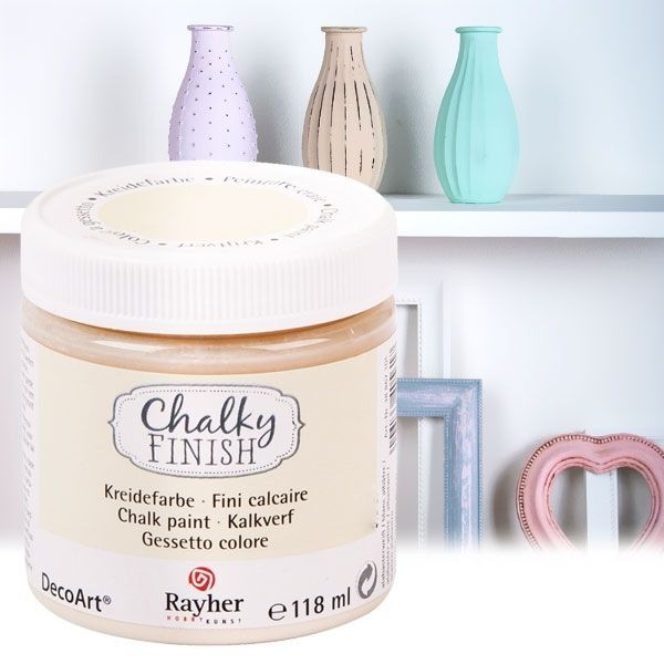 Chalky Finish Kreidefarbe Alabaster, 118ml